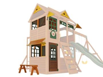 climbing frame windows and doors