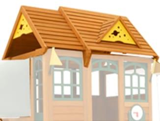 climbing frame roof