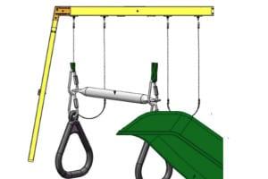 swings and slide
