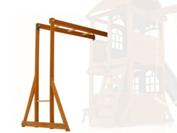 Kids Wooden Monkey Climber