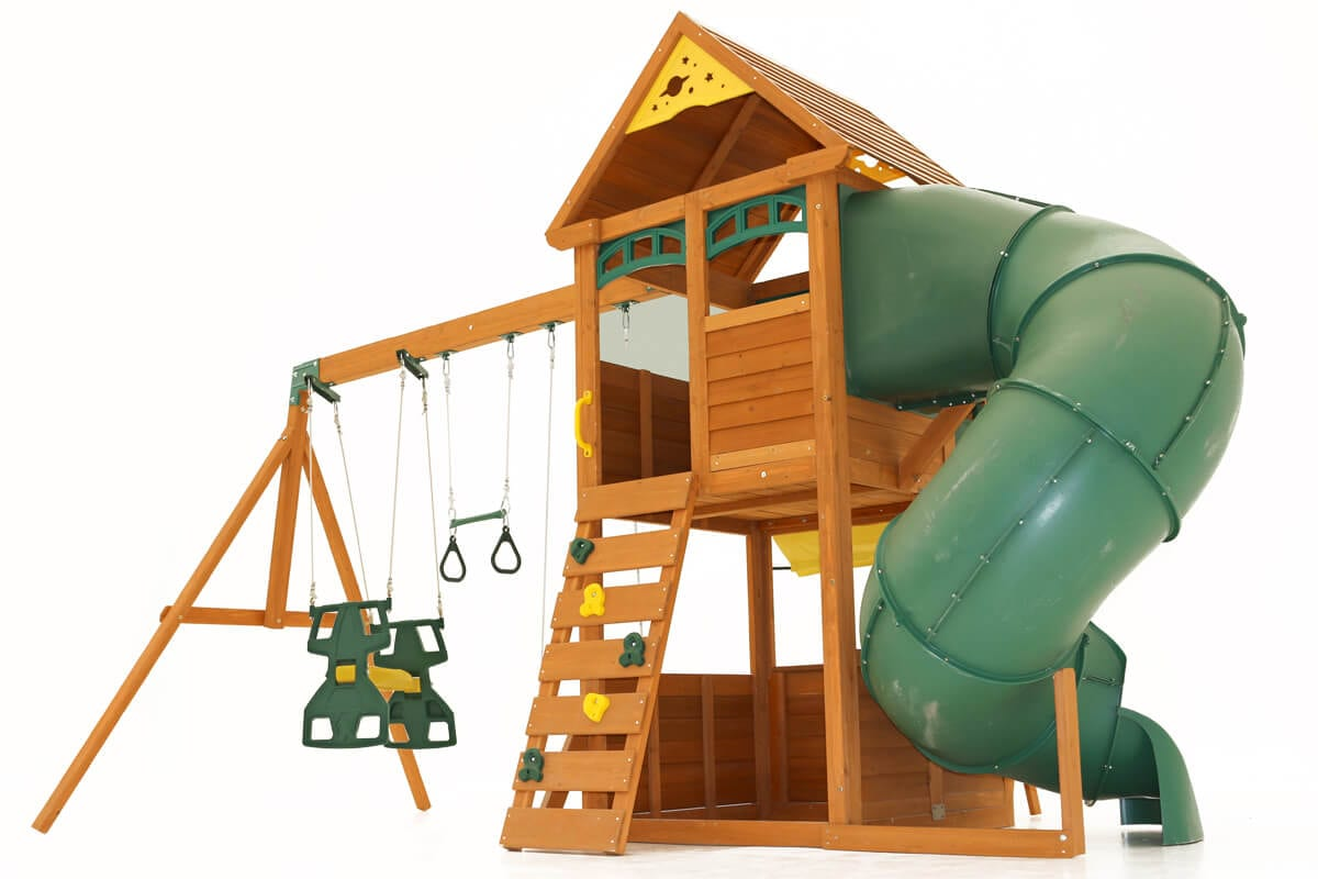 Epic climbing frame is ideal for those with small gardens