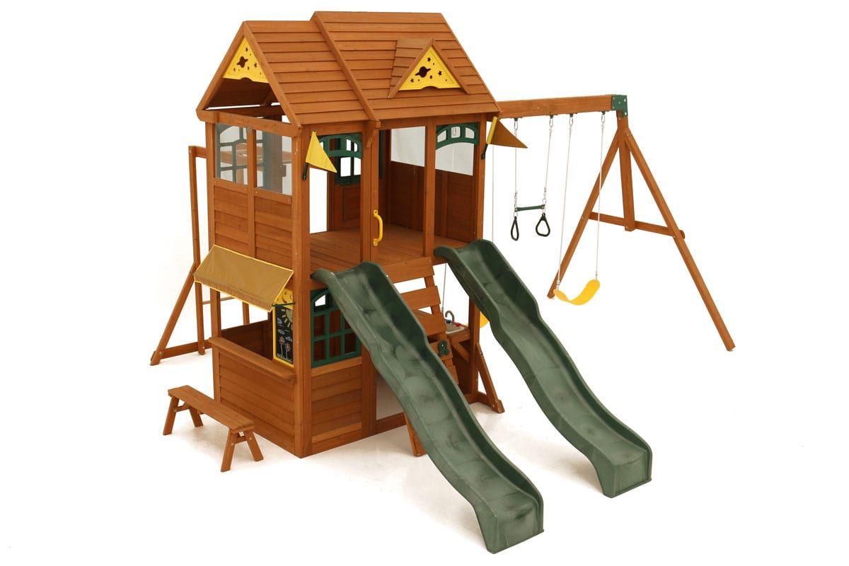 Jazz climbing frame is great for families with lots of different age children